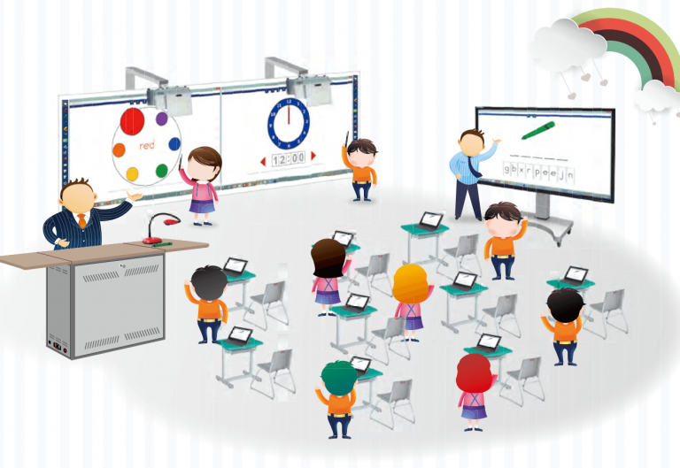 EZCast Pro and Jector in classroom