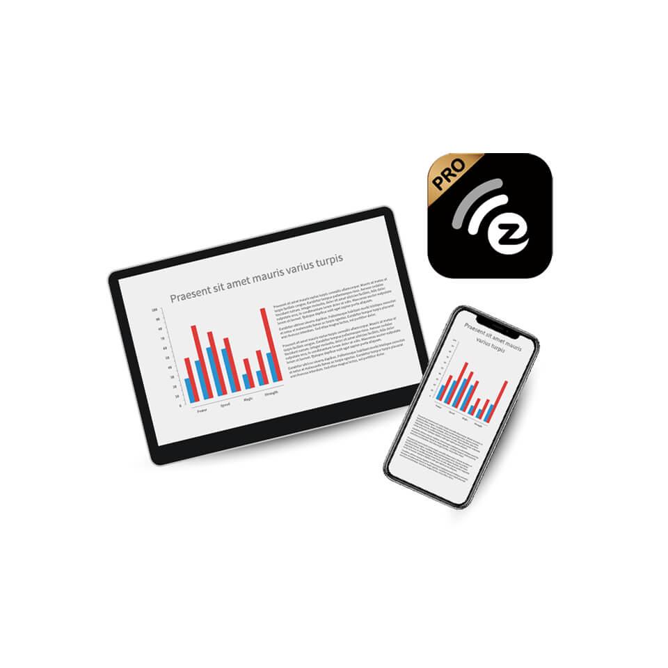 EZCast Pro app mobile phone tablet