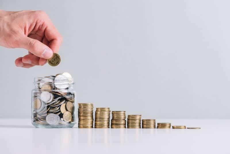 save money, deposit money, reduce cost, budget
