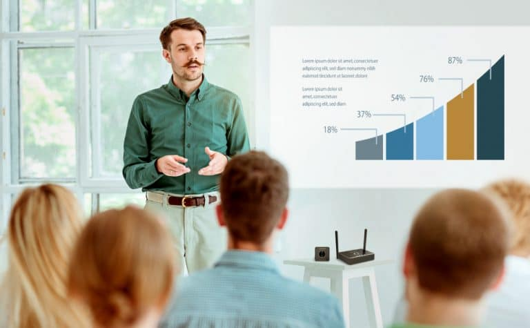 EZCast Pro will improve your Lectures